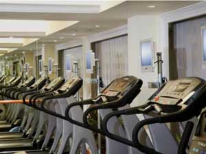 Gym at the Holiday Inn Golden Mile