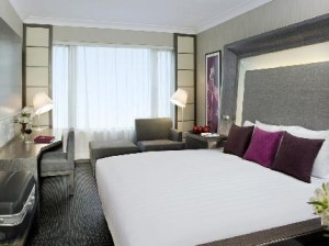 A Superior Room at the Novotel Kowloon