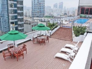 Rooftop Terrace and Swimming Pool