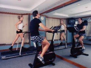 Fitness Gym at the Stanford Hotel