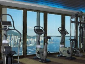 W Hotel hong Kong Fitness Gym