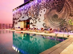 W Hong Kong Hotel Swimming Pool